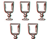Wine glass patterns