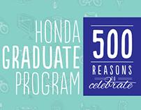 Honda Grad Program