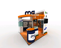 MG trading stand