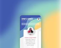 Football Store app UI