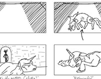 Journey of the Spark Storyboards: Celestia's Downfall