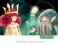 CHILD OF LIGHT / VIDEO GAME / CUTSCENE CHARACTER DESIGN