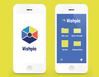 Wishpic App Design