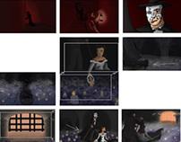 """Phantom Re-Imagined"" Color/Mood Boards"