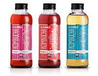 Clearly Kombucha Product Shots