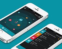 Buzzdrive mobile app design