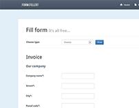FormFiller - PDF documents creation system