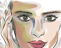 'It's Your Image' - Spa Brochure Illustration - 3