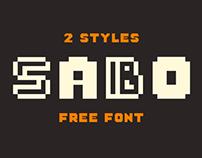 Free Font: Sabo