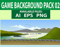 Nature Game Background Pack-03