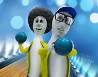 Personagem 3D - Boliche Laranjeiras