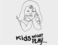 // Digital Art - Kids might play serie