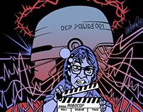 Esquire RoboCop Illustration
