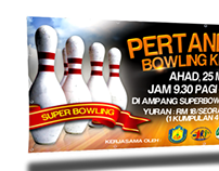 Banner 8x4ft - Competition Family Bowling