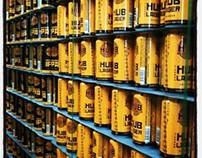 HUB / HOPWORKS URBAN BREWERY CANS