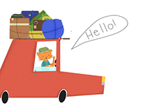 Ilustration · Hello-Bye ·