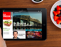La Presse + / Site promotionnel