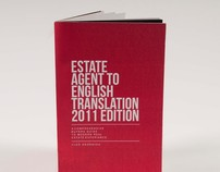 "ISTD ""Fakery"": Estate Agent to English Translation 2011"