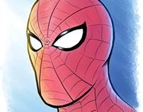 SPIDER-MAN PRACTICE PORTRAIT