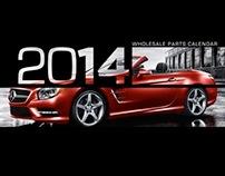 2014 Mercedes-Benz Calendar
