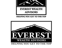 Everest Wealth Advisors Logo Design