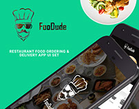 FooDude | Restaurant ordering and delivery app