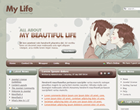 My Life - Personal Page Joomla Template