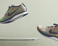 #WhatTheLevitation - Nike Flyknit Racer Multicolor