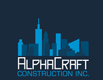 Alphacraft - NYC Construction Company Logo