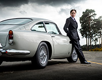 Bond Aston Martins for Vanity Fair