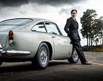 Bond Aston Martins for Vanity Fair