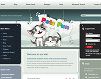 Pets Fun Joomla Template