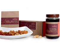 Mukuch Armenian Walnut Products Packaging