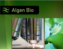 Algen Bio Identity & Website