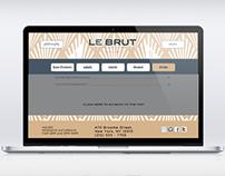 LE BRUT WEB DESIGN