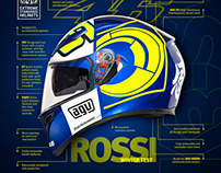 AGV K3 SV Rossi Winter Test Full page A4 ad