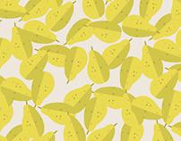 pear, pattern