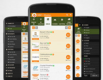 UI/UX for Restaurant Listing App for Android & iOS