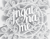 Jngai Na Me CD Cover and Lyrics Booklet