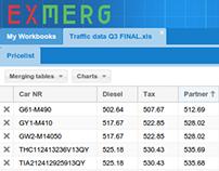 EXMERG - Excellent Spreadsheet Merging Tool