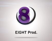 Eight Prod Logo animation