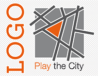 """LOGO for """"Play the City"""""""