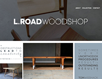 L.Road Woodshop Website
