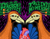 "Peacock Effect - ""Fall Into My Heart"" Album Art"