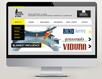 Press Institute of India's Website Redesign