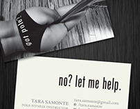 Tara Samonte Business Cards