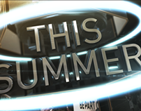Summer Sports Promo Concept