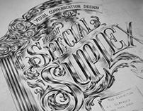 SPECIAL SUPLEX : Exhibition Poster