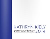 Kathryn Kiely Graphic Design Portfolio 2014