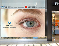 LensCrafters - Digital Signage
